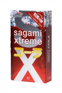 Презервативы латексные Sagami Xtreme Cola №10, 19 см