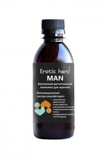 Сироп для мужчин   «Erotic hard» , для усиление эрекции, 250 мл