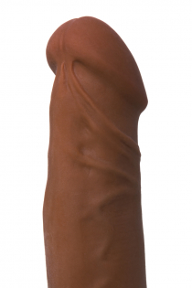 Вибратор TOYFA RealStick Elite Mulatto, реалистичный, на присоске, мулат, 13 см