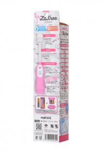 Вибромассажёр LaFree DENMA Magic Eyes, ABS пластик, розовый, 20.4 см