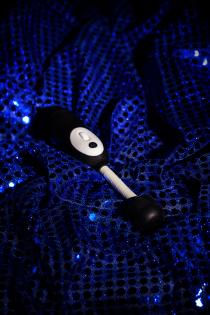 Вибромассажёр LaFree DENMA  Magic Eyes, ABS пластик, черный, 20,4 см