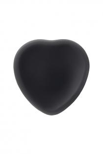 Ремневой нереалистичный страпон на присоске Strap-on-me, L, силикон, черный, 19 см