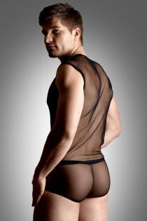 Костюм-сетка мужской SoftLine Collection, черный-XL