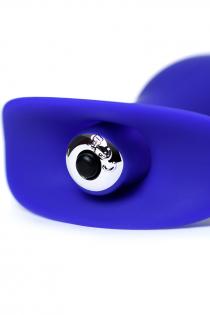 Анальная вибровтулка ToDo by Toyfa Fancy, силикон, синяя, 10,7 см, Ø 3,5 см