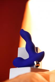 Вибростимулятор простаты ToDo by Toyfa Stroman, силикон, синий, 14,5 см