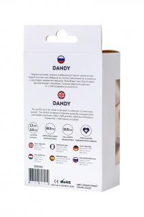 Анальный вибратор ToDo by Toyfa Dandy, влагостойкий, силикон, фиолетовый, 13,5 см, Ø 3,2 см