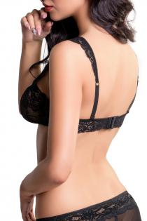 Бралетт кружевной Erolanta Lingerie Collection, черный (46-48)
