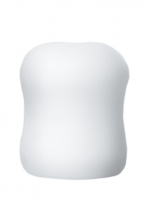 Мастурбатор Mystim MasturbaTIN Swirl Gir, TPE, белый, 4,5 см
