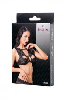 Бралетт кружевной Erolanta Lingerie Collection, черный (42-44)