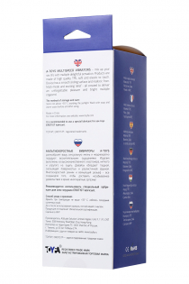Реалистичный вибратор TOYFA A-Toys, TPE, Мультискоростной, телесный, 18 см
