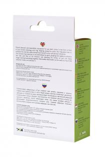 Эрекционное кольцо на пенис A-Toys by TOYFA, силикон, зеленый, Ø 3,1 см