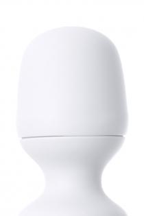 Нереалистичный вибратор Satisfyer Woman Wand , 10 режимов вибрации, ABS пластик, Белый, 34 см, Ø 5,7 см