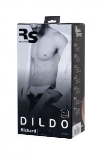 Реалистичный фаллоимитатор TOYFA RealStick Elite DILDO, TPR, телесный, 20 см