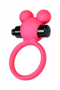 Виброкольцо на пенис A-Toys by TOYFA, силикон, розовое, Ø 3,1 см