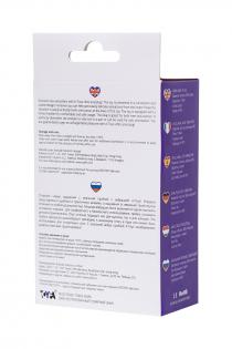 Анальная пробка с вибрацией A-Toys by TOYFA размера S, влагостойкая, силикон, фиолетовая, 11,2 см, Ø 2,7 см