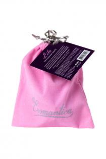 Гигиеническая менструальная чаша Eromantica, силикон, фиолетовый, S