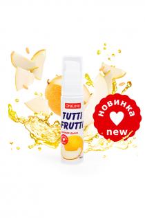 Съедобная гель-смазка TUTTI-FRUTTI для орального секса со вкусом сочная дыня 30г
