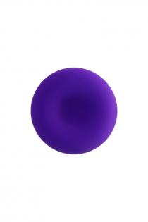 Анальная втулка ToDo by Toyfa Sholt, водонепроницаемая, силикон, фиолетовый, 10 см, Ø 3 см