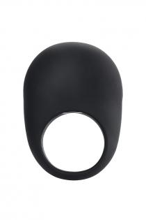 Эрекционное кольцо на пенис OIVITA, ORing Plus, силикон, черный, 6.5  см