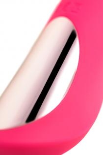 Нереалистичный вибратор JOS Twig, 5 режимов вибрации, силикон, розовый, 20,5 см, Ø 3,4 см