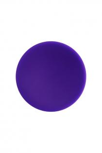 Анальная втулка ToDo by Toyfa Klapsy, водонепроницаемая, силикон, фиолетовая, 10,5 см, Ø 3 см