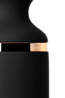Нереалистичный вибратор Satisfyer Woman Wand , 10 режимов вибрации, ABS пластик, Чёрный, 34 см, Ø 5,