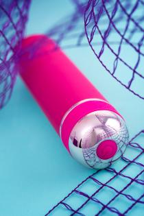 Нереалистичный вибратор A-Toys by TOYFA Mastick mini, 10 режимов вибрации, ABS пластик, розовый