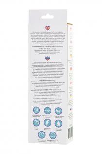 Вибростимулятор L'EROINA by TOYFA Cosmy, 7 режимов вибрации, силикон, фиолетовый, 18,3 см, Ø 3,6 см