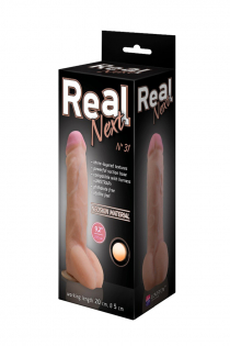 Фаллоимитатор неоскин на присоске REAL Next Lovetoy, TPR, телесный 25,5 см
