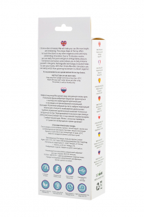 Вибростимулятор L'EROINA by TOYFA Flo, 10 режимов вибрации, силикон, фиолетовый, 18,5 см