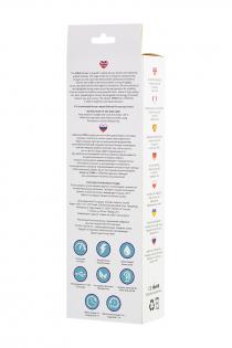 Нереалистичный вибратор L'EROINA by TOYFA Syrin, 10 режимов вибрации, силикон, фиолетовый, 21 см, Ø
