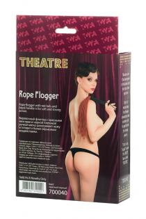 Флоггер TOYFA Theatre из веревки, красный
