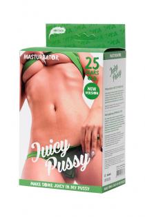 Мастурбатор реалистичный TOYFA Juicy Pussy, Hot, TPR, телесный, 14,5 см