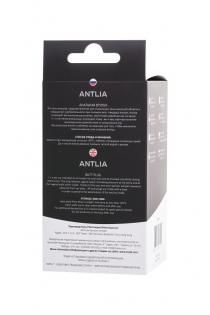 Анальная втулка TOYFA POPO Pleasure Antlia, силиконовая, черная,10,5 см