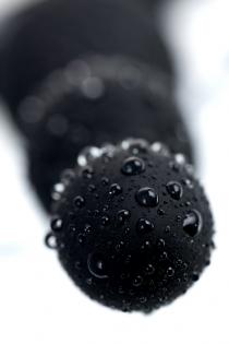Анальная втулка POPO Pleasure by TOYFA Aquilae, водонепроницаемая, силикон, черная, 18 см, Ø 3 см