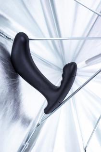 Электростимулятор Mystim Twisting Tom, силикон, черный, 13 см
