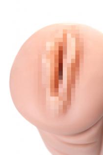 Мастурбатор реалистичный вагина Olive, XISE, TPR, телесный, 16.4 см.