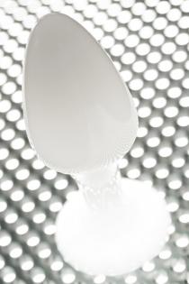 Анальная втулка TOYFA, акрил, белый, 8 см, Ø 2,8 см