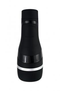 Мастурбатор нереалистичный Satisfyer  Men Classic, TPE, чёрный, 25,4 см.