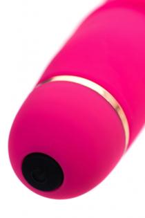 Нереалистичный вибратор A-Toys by TOYFA Capy, 20 режимов вибрации, силикон, розовый, 17,4 см, Ø 3,4