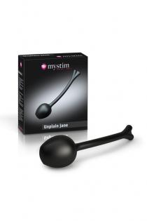 Вагинальные шарики Mystim Mono Unplain Jane Geisha Balls , электростимуляция, силикон, Ø 3,3 см