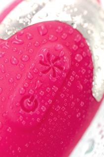 Вакуум-волновой бесконтактный стимулятор клитора L'EROINA by TOYFA Laly, силикон, розовый, 10 см