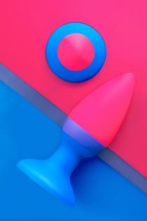 Анальная втулка Beyond by Toyfa, Brian, силикон, розовая, 7 см