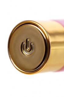 Нереалистичный вибратор Love to Love для точки G OMG, силикон, розовый, 17 см.