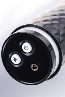 Секс-машина Sekster, MotorLovers, ABS, черная, 29 см