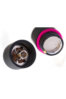 Вибропуля A-Toys Braz ABS пластик, черный, 5,5 см, Ø 1,7 см