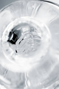 Мастурбатор A-Toys Nettl, ABS пластик, прозрачный 18,5 см