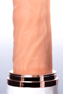 Секс-машина Sekster, MotorLovers, ABS, белая, 29 см