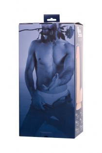 Фаллоимитатор RealStick Silicone Ryan G, телесный, 22,5 см