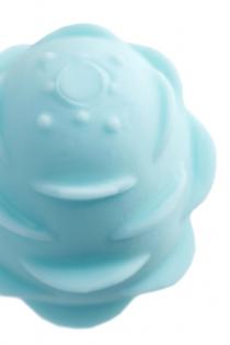 Мастурбатор A-Toys Pufl, бирюзовый, ТРЕ, 6 см Ø 2,7 см